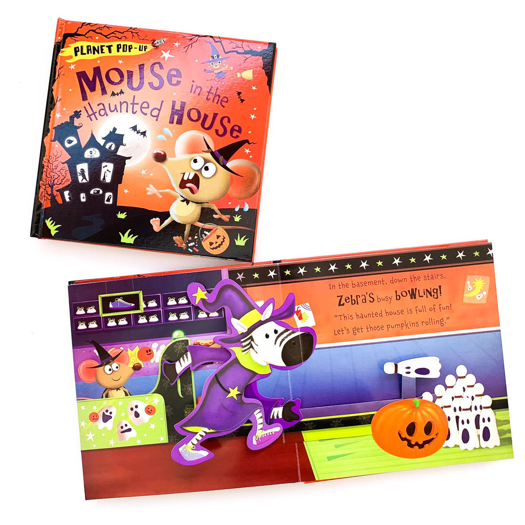 Planet Pop-Up: Mouse in the Haunted House (Hardback)