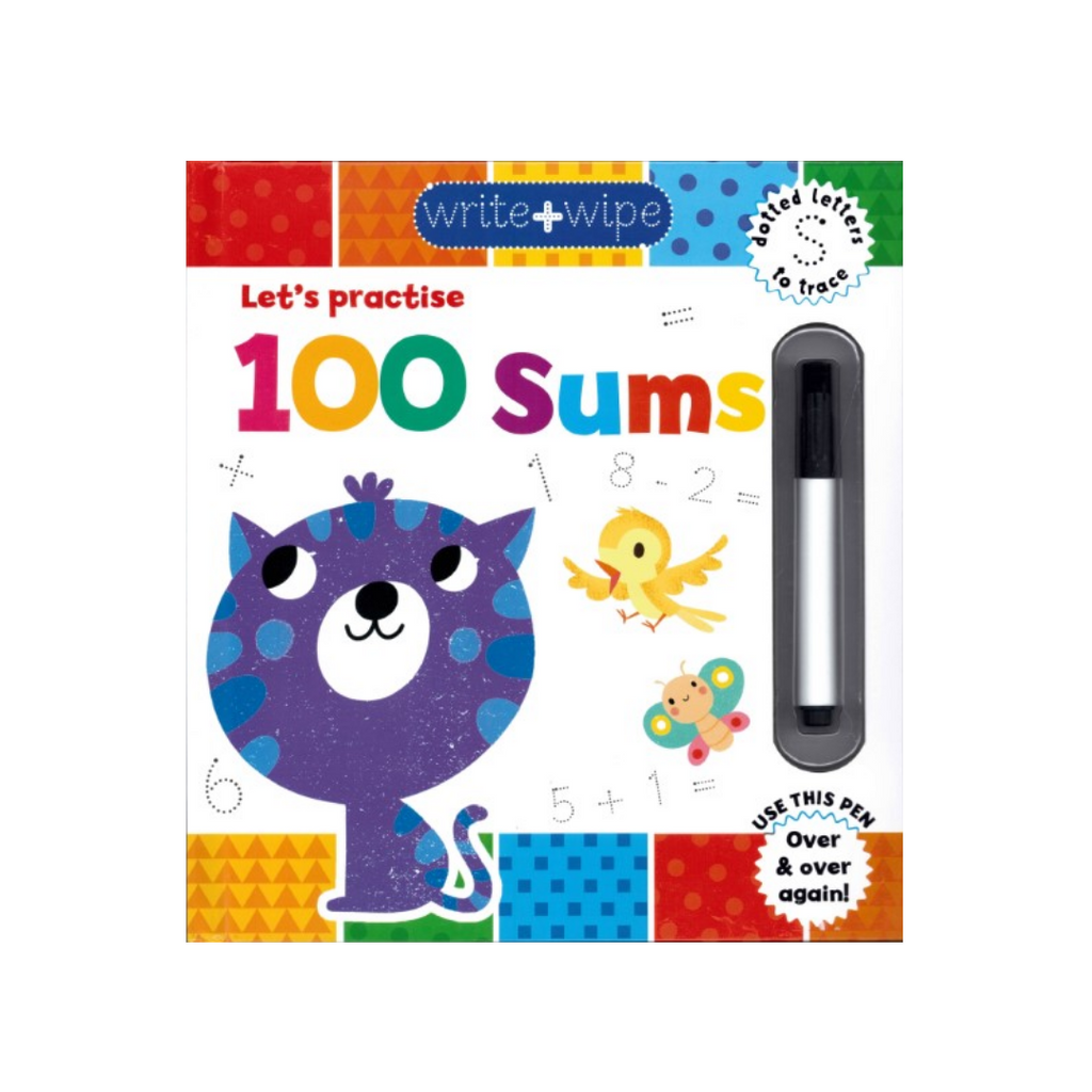 Write & Wipe Clean: 100 Sums (Hardback)