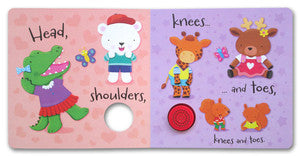 Sound Book : Head, Shoulders, Knees and Toes (Board Book)
