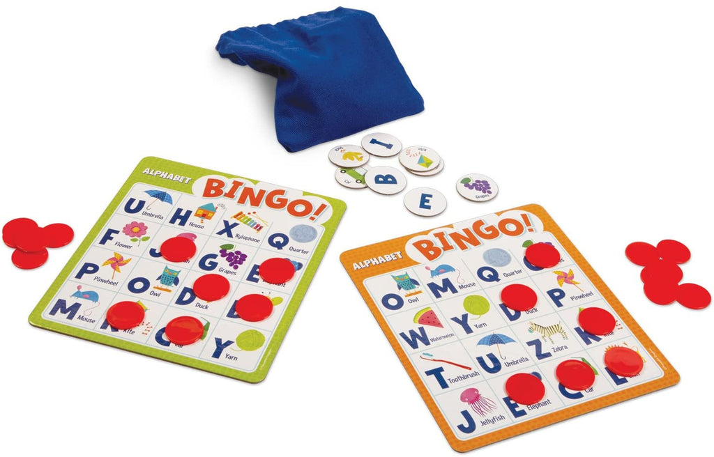 Alphabet Bingo: The Letter Learning Game!