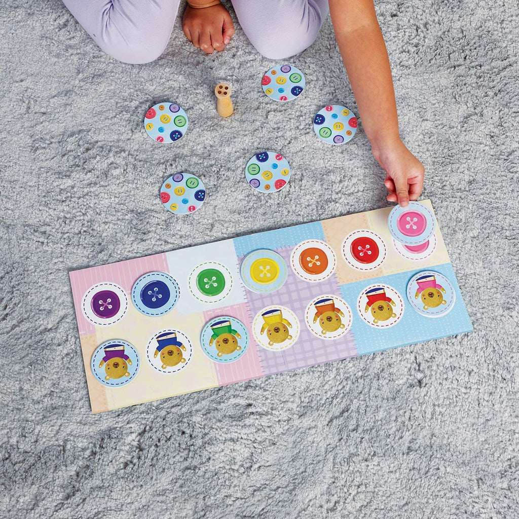 [Sale] *Peaceable Kingdom Button, Button, Belly Button: The Colour Matching Game