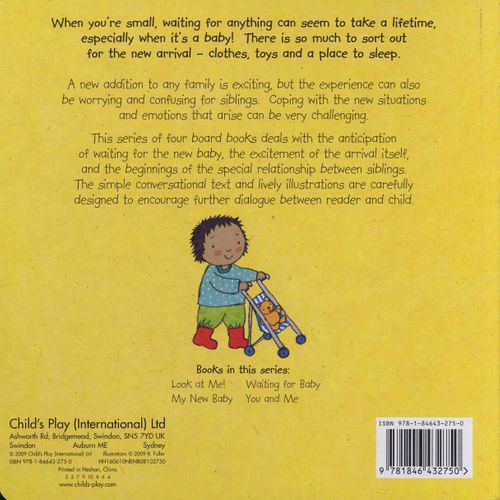 New Baby: Waiting for Baby (Board Book)