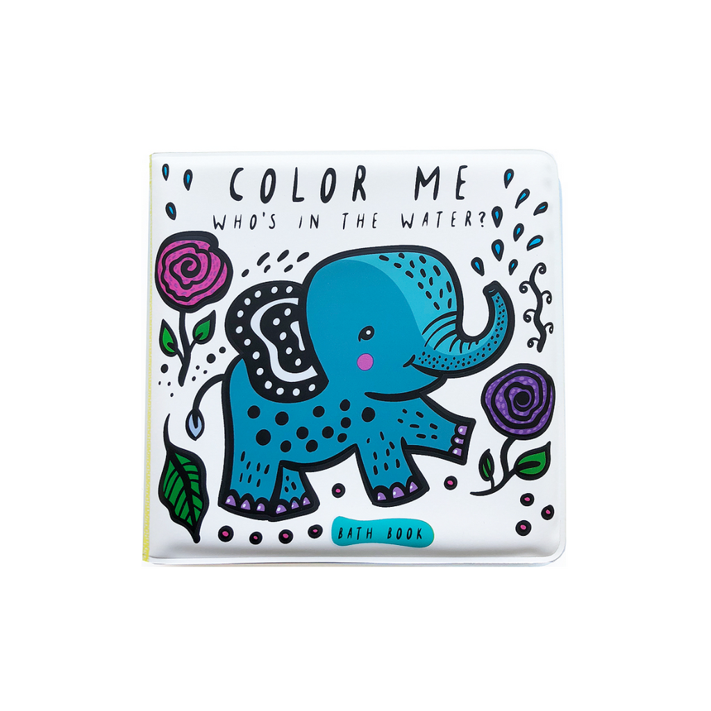 Color Me: Who's In the Water? (Bath Book)