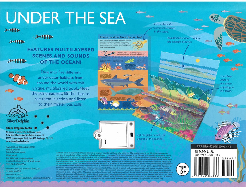 Sound Book : Layer by Layer: Under the Sea (Hardback)