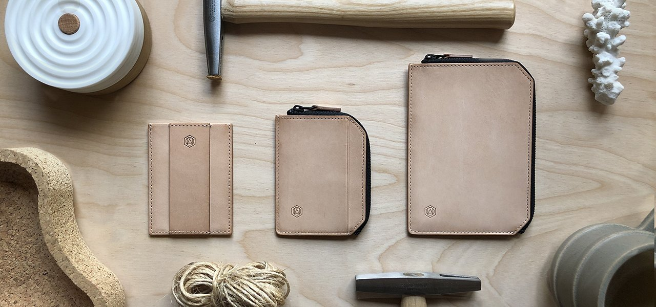 Vachetta Minimalist Leather Wallet