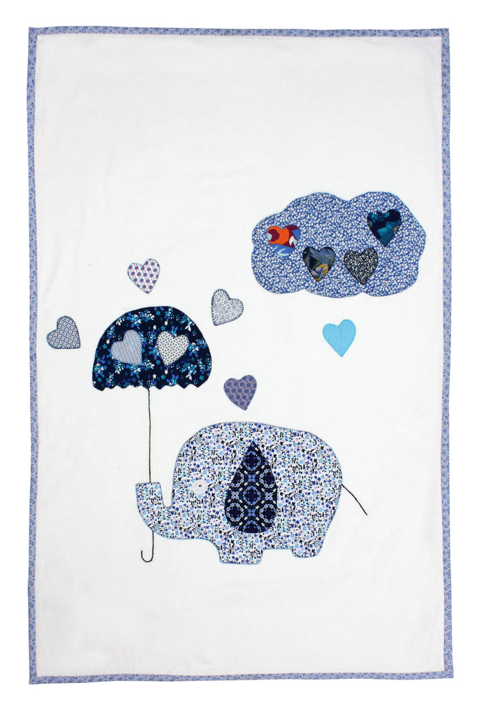 Patchwork Baby Bedspread ( Elephant)