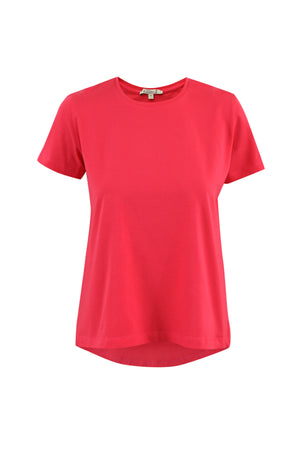 Classic Round Neck T-Shirt (Watermelon Pink)