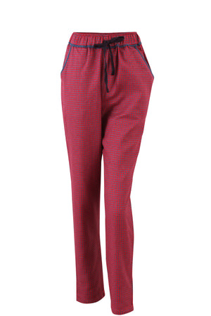 Red Checked Pyjama Pants