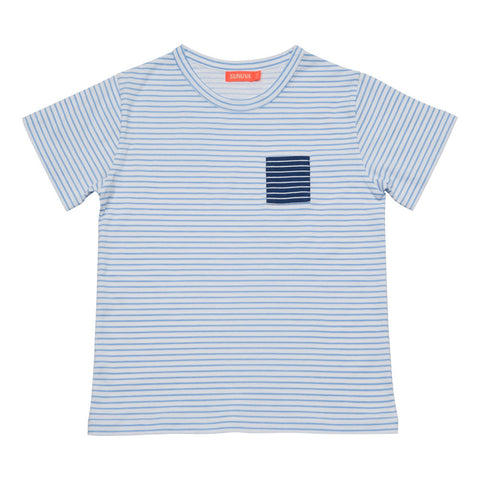 BOYS BLUE/WHITE STRIPE T-SHIRT. PRINCE GEORGE. FUND RAISING SHIRT. SEND US YOUR PRICE!!! FUND RAISING FINISHES 10TH AUGUST. SIZE AVAILABLE 11-12 YEARS. STARTING PRICE: 100 EURO