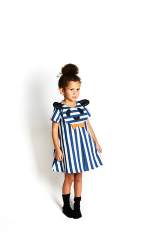 Big Hug Striped Dress with Panda Face. FROM 68€ NOW: