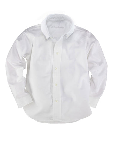 White Classic Oxford Unisex Shirt. FROM 55€ NOW:
