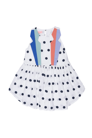 Ladybird Off White Spot Dress. FROM 65€ NOW: