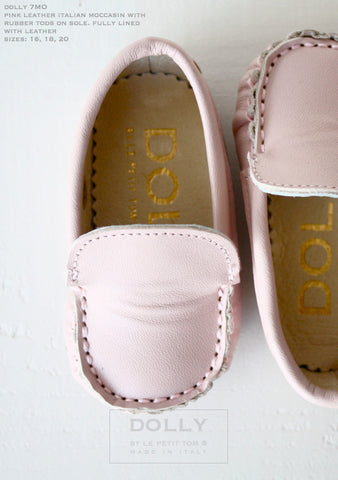 Dolly by Le Petit Tom Baby Girl Moccasins. FROM 60€ NOW: