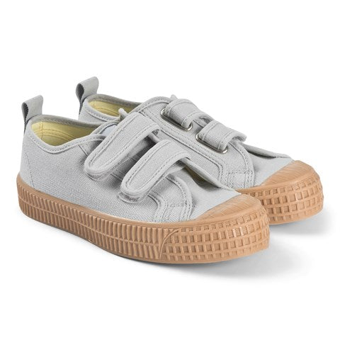 Light Jeans with Tan Sole Star Master Velcro Kid Trainers