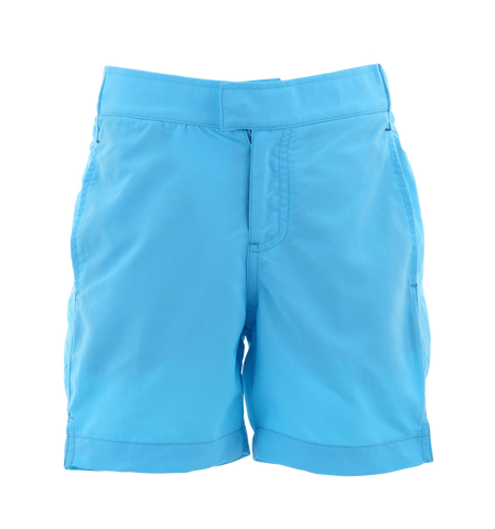 BOYS TURQUOISE TAILORED SWIM SHORT. FROM 50€ NOW: