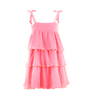 GIRLS PINK WITH YELLOW FRILL DRESS. FROM 59€ NOW: