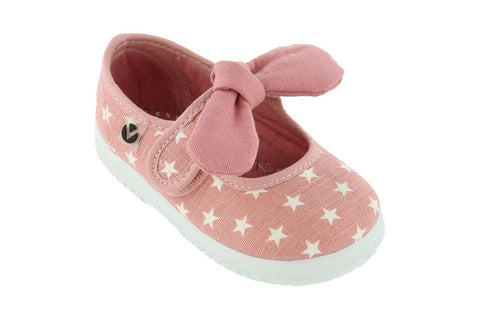 Victoria Star Mary Jane With Bow - Pink. FROM 30€ NOW: