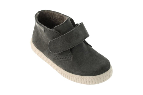 Victoria Safari Ankle Boot with velcro Grey (SOLD OUT)