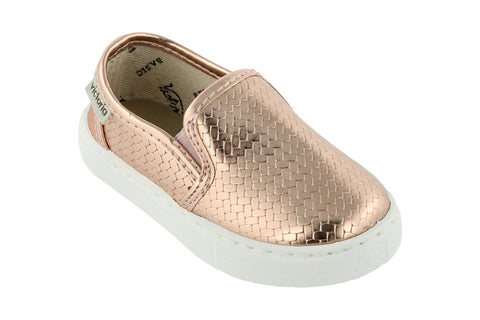 Victoria Metallic Braided Slip-On Salmon (Sizes 24-34). FROM 55€ NOW: