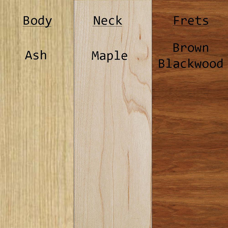 Precision Bass Wood Types