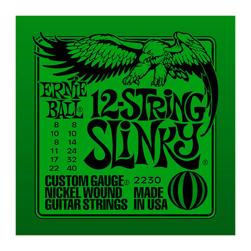 Ernie Ball 12-String Slinky Guitar Strings
