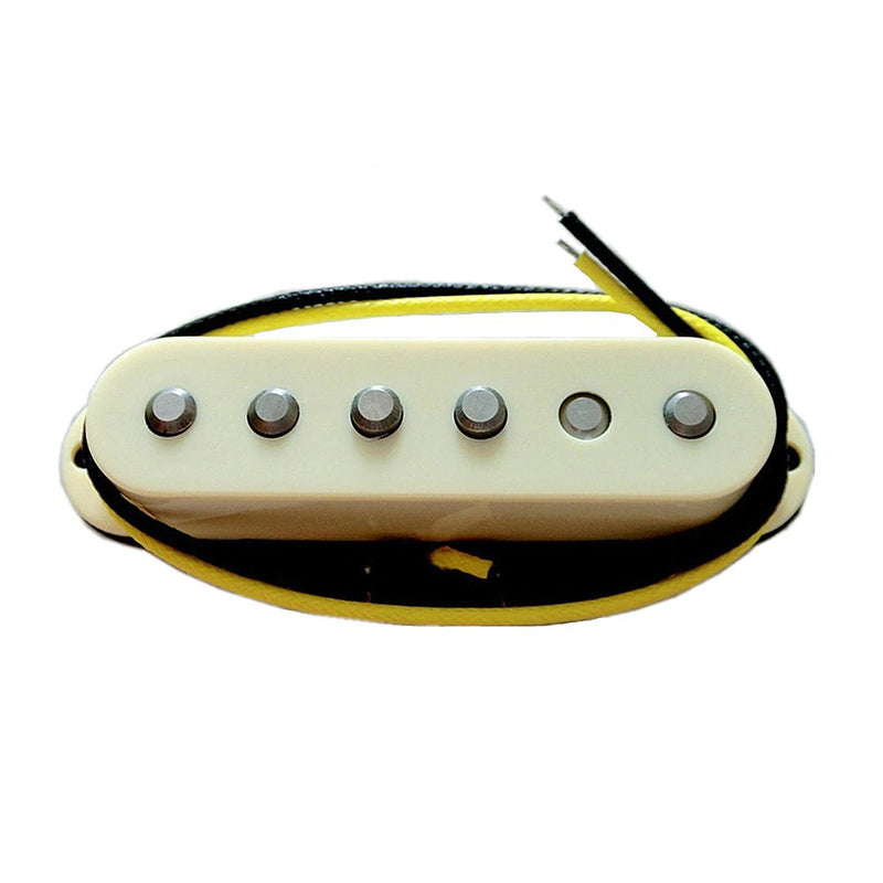 High Output 60's Style Alnico V Single Coil Pickups Cream