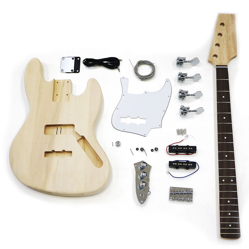 Premium DIY Jazz Bass Guitar Kit