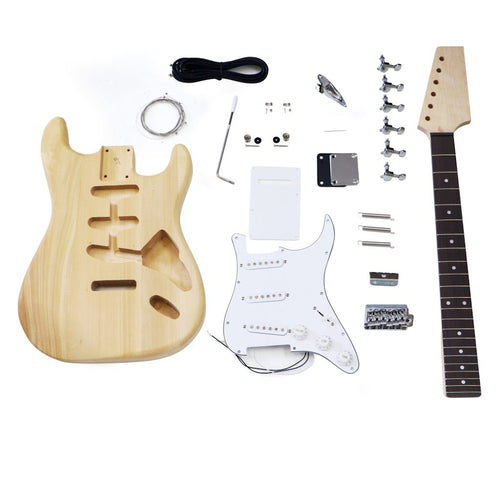Premium Strat Style DIY Guitar Kit