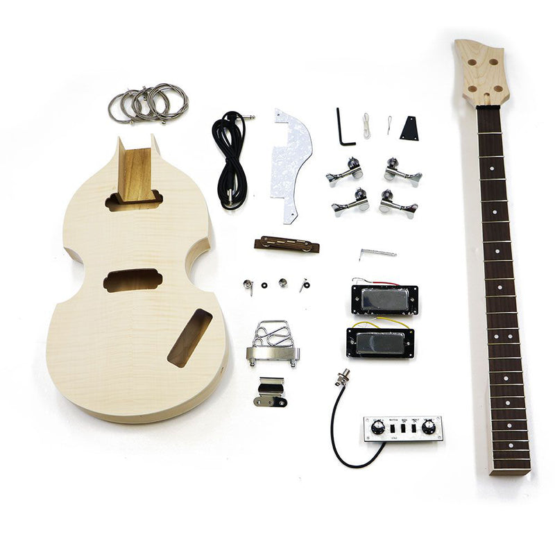 Premium Violin Bass DIY Guitar Kit