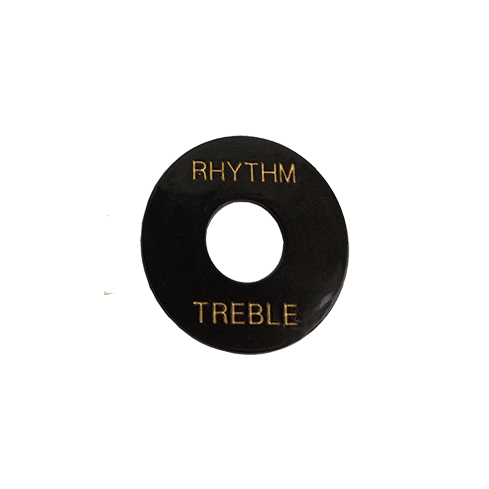 Black Treble Plate