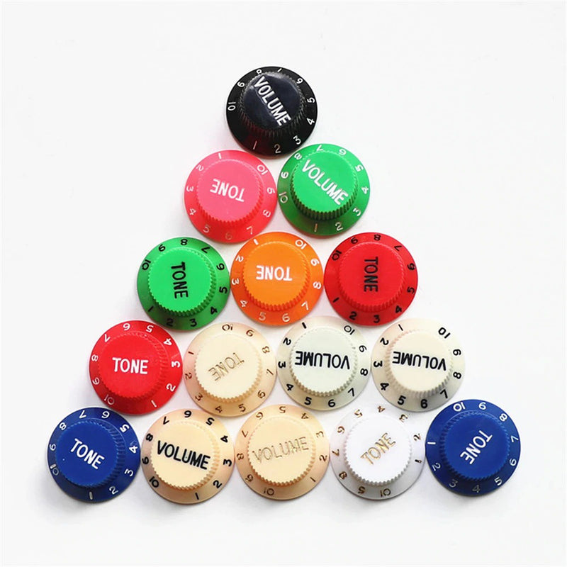 Strat Control Knobs All Colours