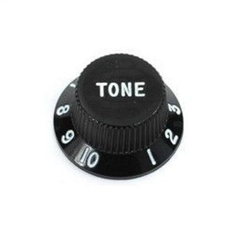 Strat Control Knobs Black Tone