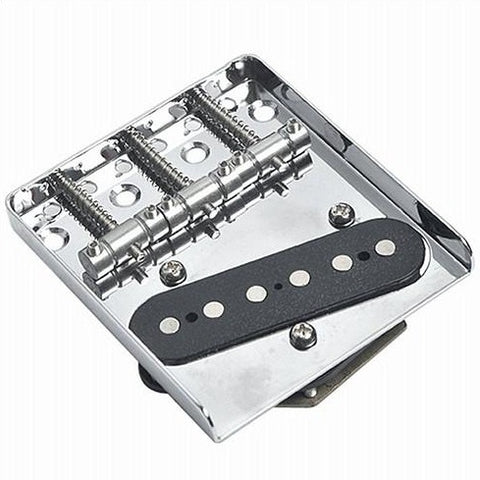 Tele Chrome Bridge With Pickup