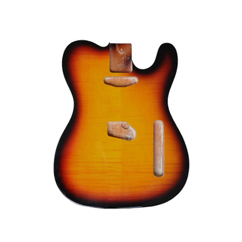 Tobacco Sunburst Finished Tele Body