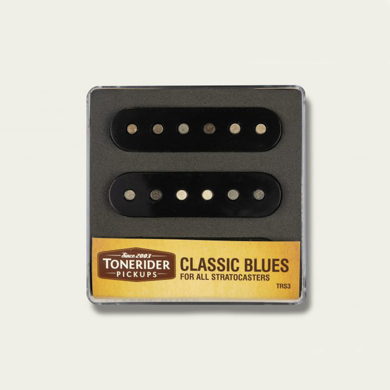 ToneRider Classic Blues Alnico Pickups Black