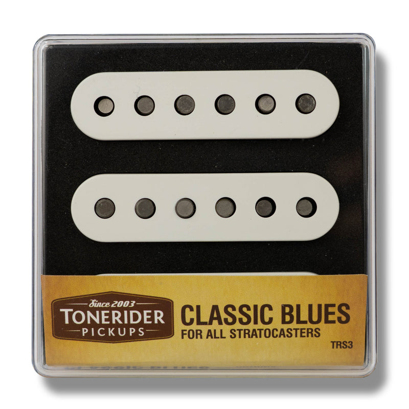 ToneRider Classic Blues Alnico Pickups White