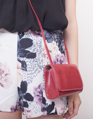 C8502 - Jaslin Red Wine Bag