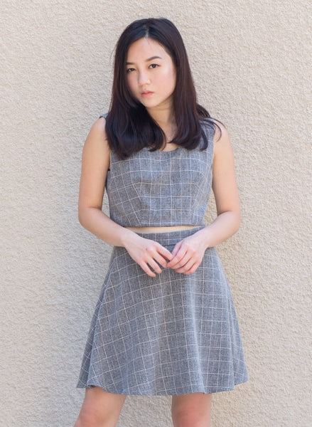 C9302 - Odysseia Grey Skirt