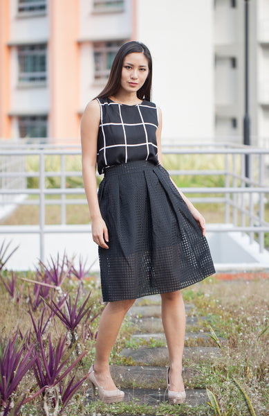 C8303 - Freya Black Skirt