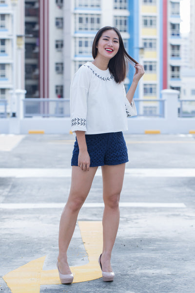 C9704 - Savannah White Top