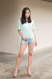 C9703 - Sindy Mint Top