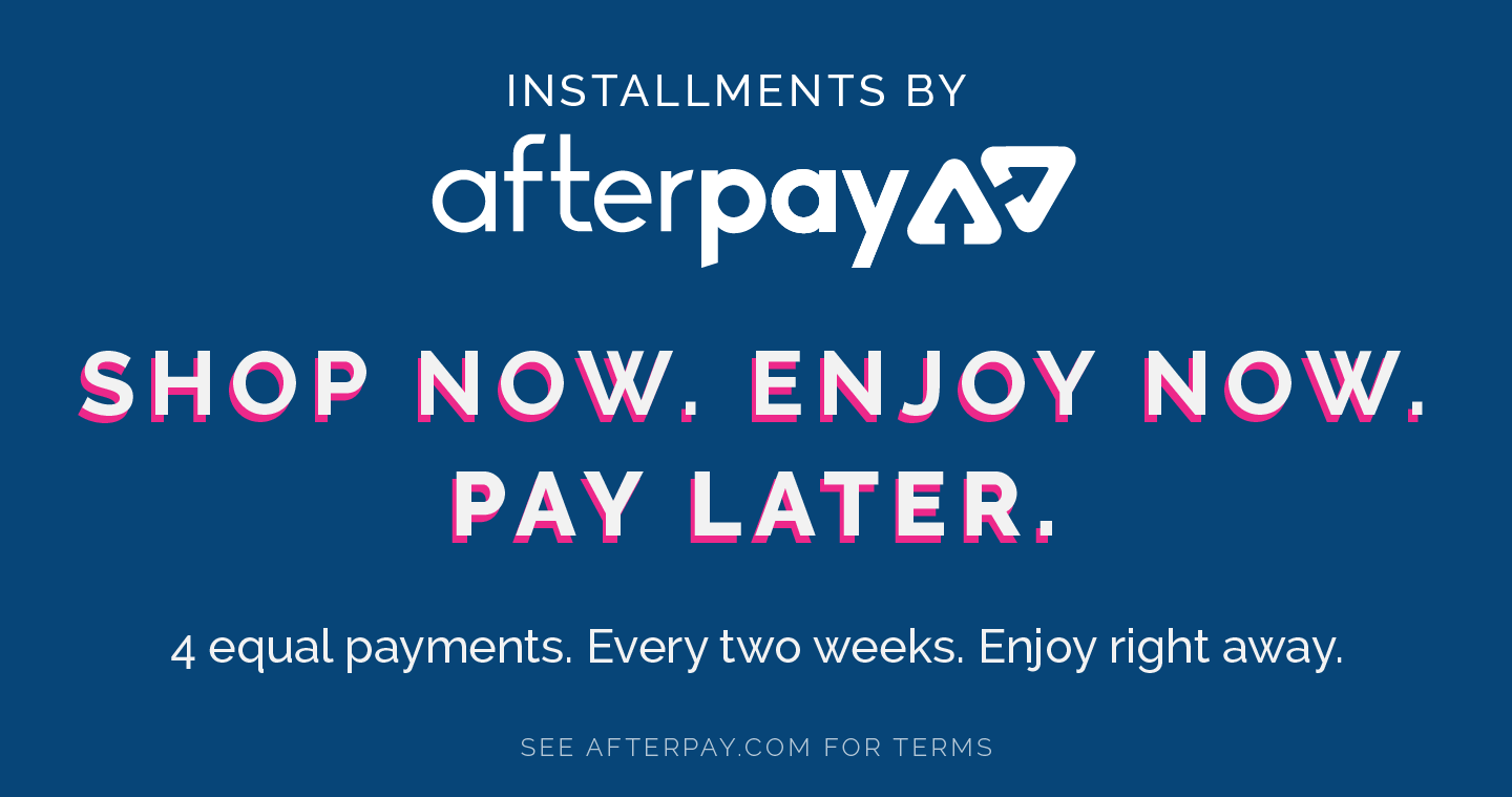 How does Afterpay Work. Olive French Boutique offers Afterpay option at checkout.