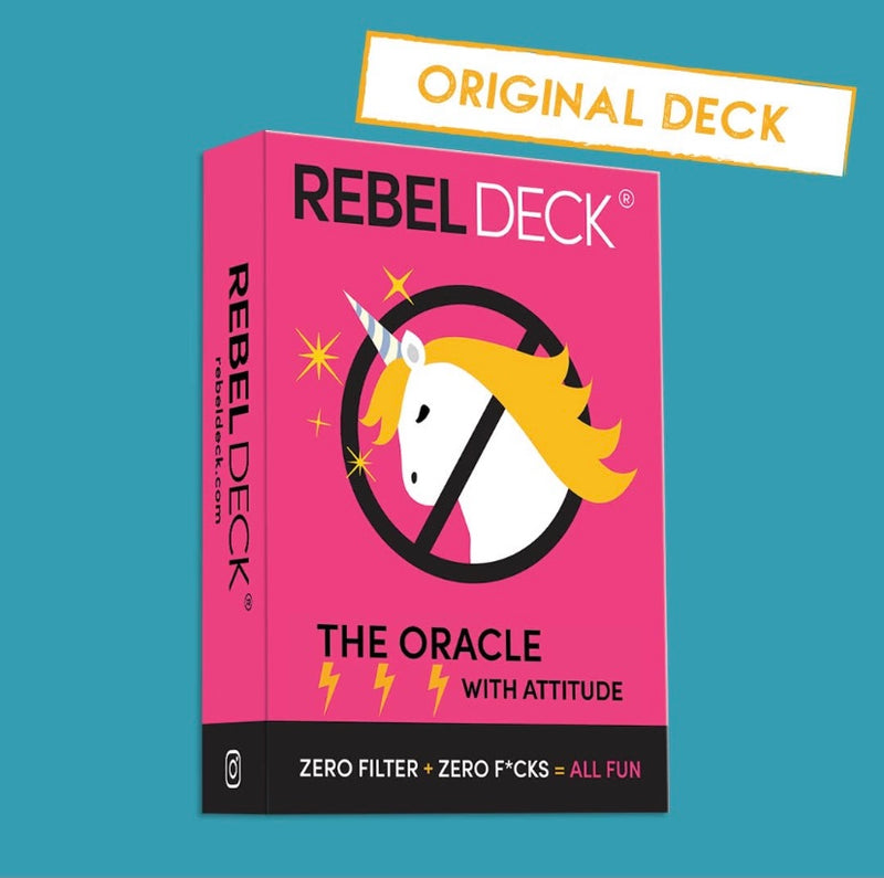 """Rebel Deck"" Funny Modern Oracle Cards (60 Card Deck)"