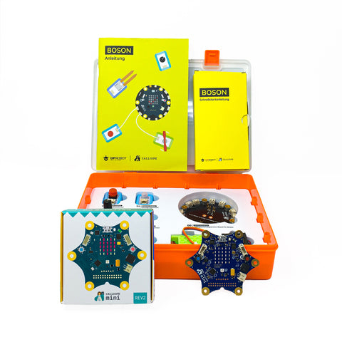 10 Calliope mini 2.0 & 10 DFRobot Boson Starter Kit Bundle