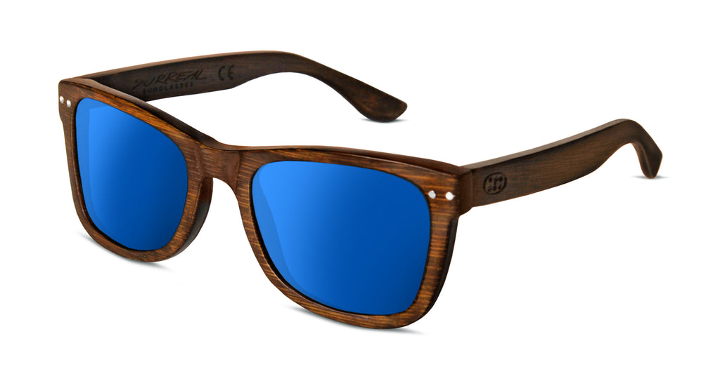 Surreal® Sunglasses Polarized Floating Full Bamboo