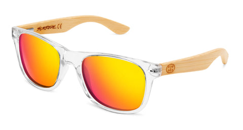 Surreal® Sunglasses - Half Bamboo Polarized Clear