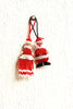 Santa Ornament Set