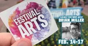 Star Wars Artist BRIAN MILLER Returns to EPCOT International Festival of the Arts 2020