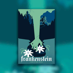 Behind the Scenes: Illustrating a minimalist style Frankenstein poster with artist Brian Miller