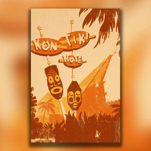 Kon Tiki: Sketch to finished illustration